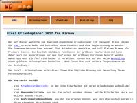 Excel Homepage Werner Theis