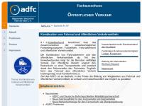 ADFC-Fachausschuss Öffentlicher Verkehr