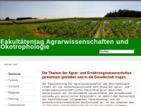 Fakultätentag Agrarwissenschaften und Ökotrophologie