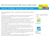 FDP Kreisverband Märkisch-Oderland
