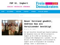 FDP Freie Demokratische Partei Ortsverband St.Ingbert