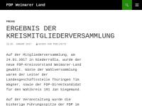 FDP Kreisverband Weimarer Land