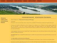 Ferienwohnung in Rüdesheim-Presberg