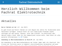 Fachschaftsrat Elektrotechnik und Informationstechnik