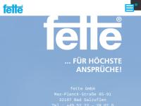 Fette GmbH Umwelttechnik