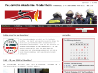 Feuerwehr-Akademie Niederrhein