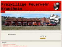 Freiwillige Feuerwehr Krautheim/Jagst
