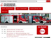 Feuerwehr Pforzheim