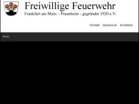 Freiwillige Feuerwehr Praunheim