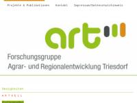 Forschungsgruppe Agrar- und Regionalentwicklung Triesdorf