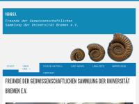 FGSUB - Freunde der Geowissenschaftlichen Sammlung der Universität Bremen e.V.