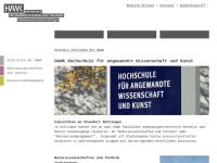 Hochschule für angewandte Wissenschaft und Kunst, Standort Göttingen