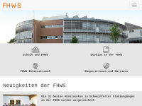 Bibliothek der Fachhochschule Würzburg-Schweinfurt
