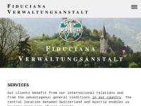 Fiduciana Verwaltungsanstalt Treuhand