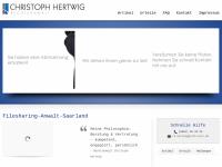 Rechtsanwalt Christoph Hertwig - Filesharing-Anwalt-Saarland.de