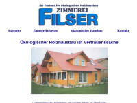 Zimmerei Filser