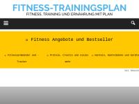 Fitness Trainingsplan
