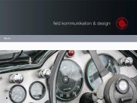 Feld Kommunikation und Design