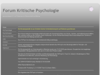 Forum Kritische Psychologie e.V.