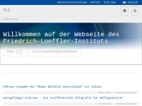 Friedrich-Loeffler-Institut, Bundesforschungsinstitut für Tiergesundheit (FLI)