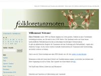 Noten zu Folkloretänzen
