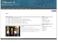 Folk- und Volksmusik in der Schweiz