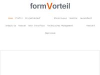 Formvorteil - Dipl.-Ind.-Des. (FH) Rolf Speer