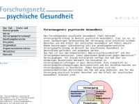 Forschungsnetz psychische Gesundheit