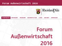 Forum Außenwirtschaft