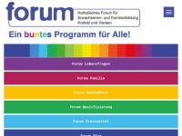 Katholisches Forum für Erwachsenen- und Familienbildung
