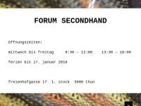 Forum Secondhand