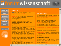 Forum Wissenschaft