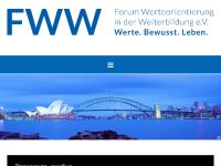 Forum Werteorientierung in der Weiterbildung e.V. - Klaus Dannenberg