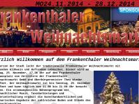 Frankenthaler Weihnachtsmarkt