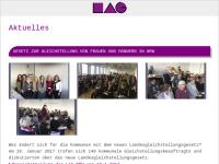 Landesarbeitsgemeinschaft kommunaler Frauenbüros / Gleichstellungsstellen (LAG NRW)