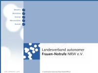 LAG autonomer Frauen-Notrufe in NRW
