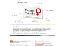 Frauensprache