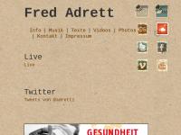 Adrett, Fred