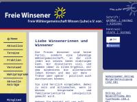 Freie Wählergemeinschaft Winsen (Luhe) e.V.