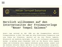 Neuer Tempel Salomons