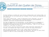Zukunft an den Quellen der Donau