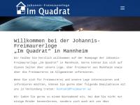 Johannis-Freimaurerloge Im Quadrat, Mannheim