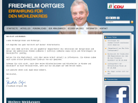 Ortgies, Friedhelm (MdL)