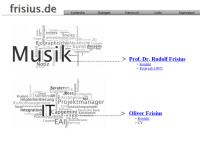 Frisius, Prof. Dr. Rudolf