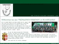 Fröhliche Hirsche