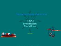 FSM Pronitschew Modellbau