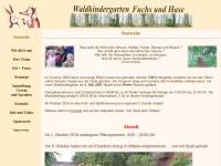 Waldkindergarten in Heine