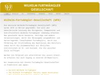 Wilhelm-Furtwängler-Gesellschaft e.V.