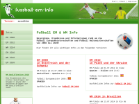 Fußball EM Info
