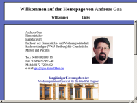 Andreas Gaa Immobilien